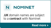 Nominet Terms and Conditions - opens in separate window